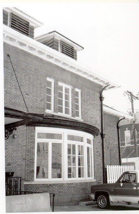 As You Can See, The Bow Window Is Just West Of What Was The Main North  Entrance. Originally The Entrance Was Designed As The Entrance To The Home  By Means ...